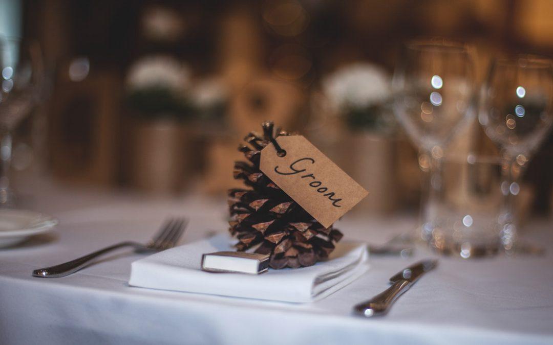 Decoración de bodas en invierno
