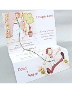 invitaciones para bodas diferentes