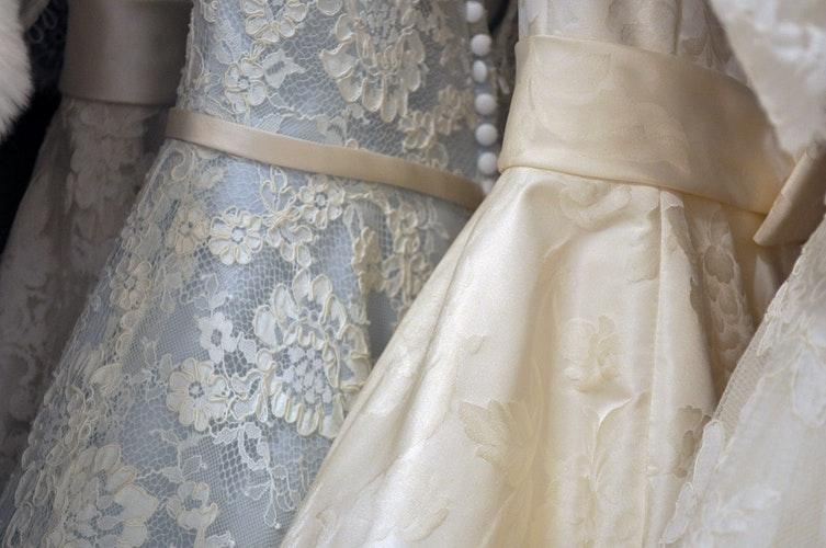 Tipos de blancos para novias