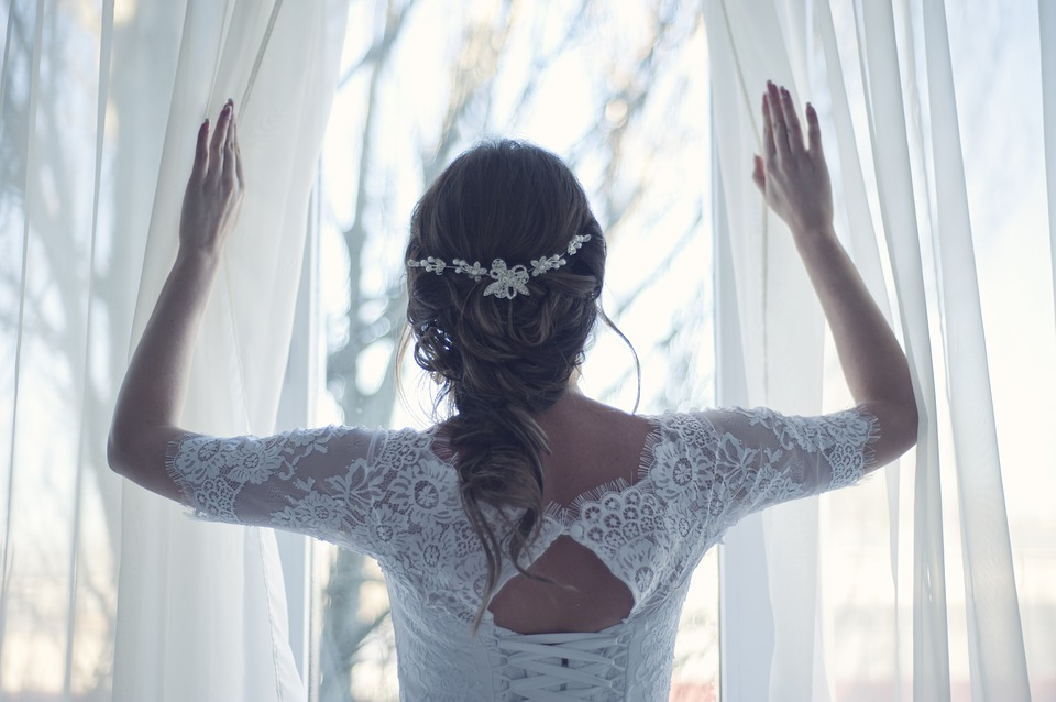¿Segundo vestido de novia?